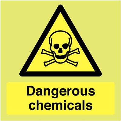 Chemical Safety Signage