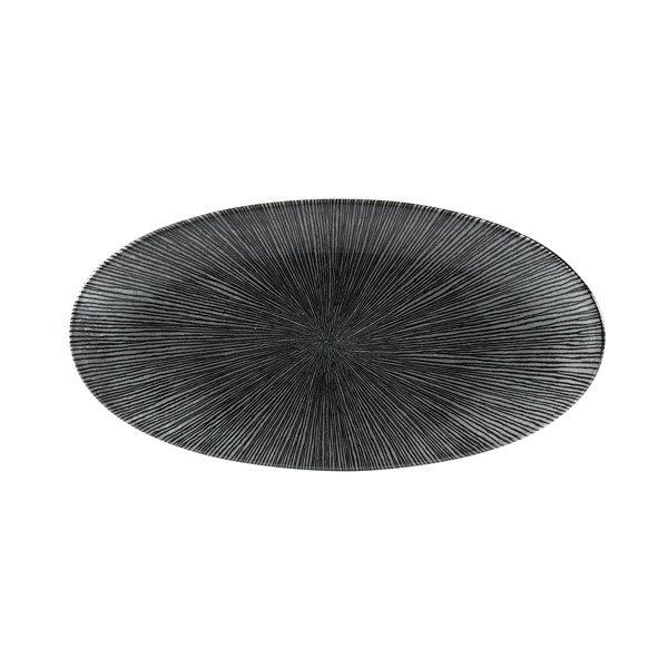 Churchill Agano Chefs Oval Plate