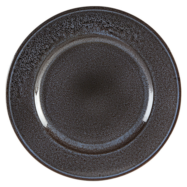 Aura Earth Rimmed Plate