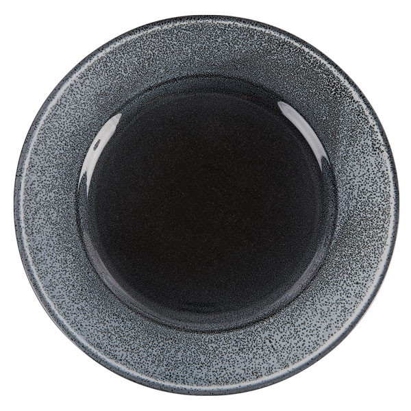 Aura Flare Rimmed Plate