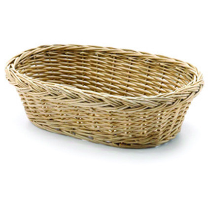Handwoven Willow Oval Basket
