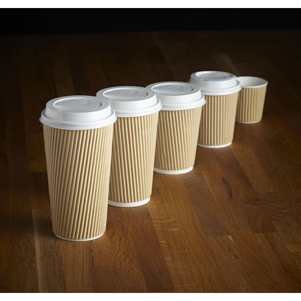 Kraft Insulated Triple Layer Hot Drink Cup