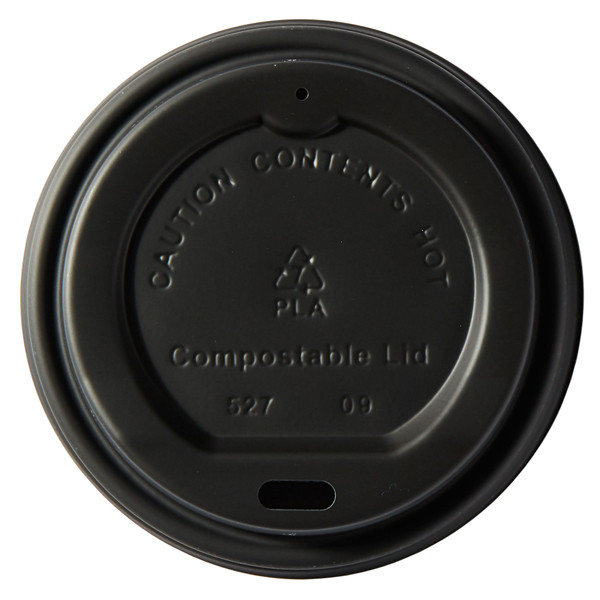 Compostable Domed Sip Thru Lid Fits 8oz Cup