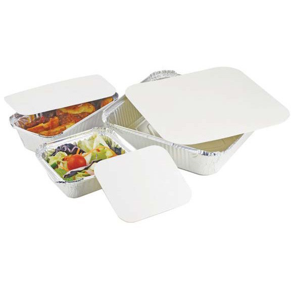 Lid For Rectangular Foil Container