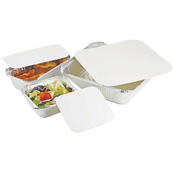 Lid For Square Foil Container