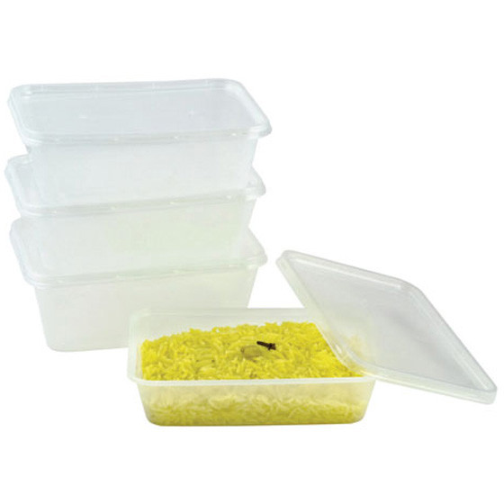 Plastic Takeaway Container With Lid