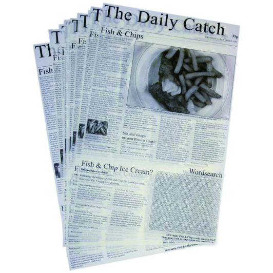 Daily Catch Greaseproof Paper Sheets