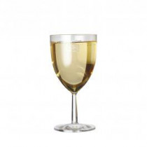 Plastic Clarity Wine Glass