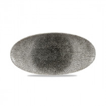 Churchill Raku Chefs' Oval Plate