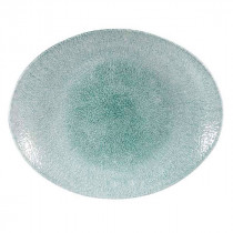 Churchill Raku Oval Coupe Plate
