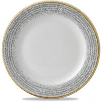 Churchill Homespun Rimmed Plate
