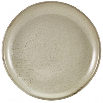 Genware Terra Porcelain Coupe Plate