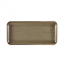 Genware Terra Porcelain Narrow Rectangular Platter