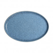 Denby Studio Blue Oval Tray