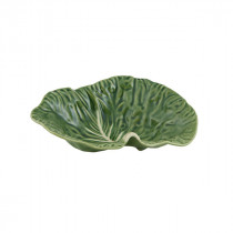 Bordallo Pinheiro Cabbage Crooked Leaf Platter