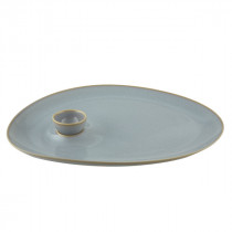 Vista Alegre Karma Large Plate With Bowl