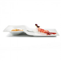 Vista Alegre Chefs Collection Step Plate by Chef Rui Paula