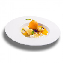 Vista Alegre Chefs Collection Temptation Plate Large Centre by Sylvie Coquet