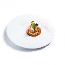 Vista Alegre Chefs Collection Temptation Plate Small Centre by Sylvie Coquet