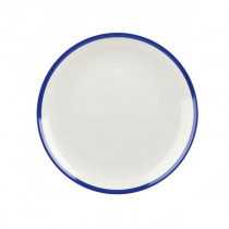 Churchill Retro Blue Coupe Plate