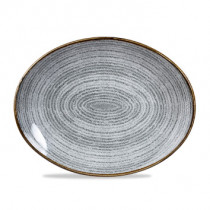 Churchill Homespun Oval Coupe Plate