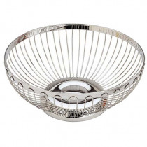 Aps Stainless Steel Round Bread Basket