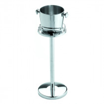 Stainless Steel Wine/Champagne Bucket & Stand Complete