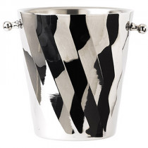 Stainless Steel Swirl Champagne Bucket