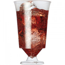 Plastic Flair Wine Glass