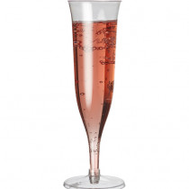 Plastic Flair Champagne Glass