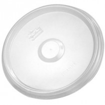 Flat Plastic Lid For Kraft Deli Container