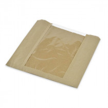 Kraft PLA Window Bags