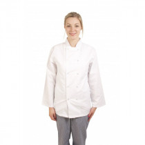 Standard Press Stud Long Sleeve Chefs Jacket