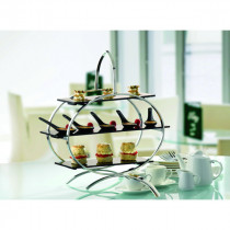 3 Tier Cake Stand With Acrylic Inserts