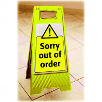 """""""Sorry Out Of Order"""" A Frame"""