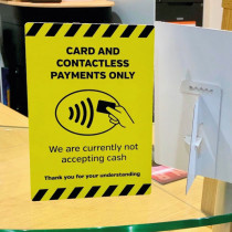 Contactless Only Sign