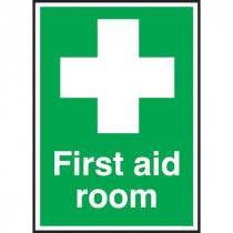 First Aid Room Sign Self Adhesive
