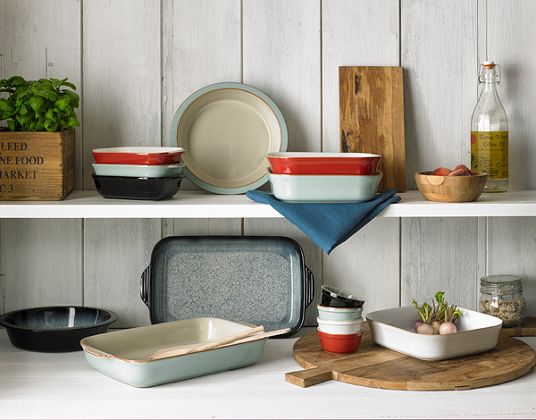 Denby\u0027s new ovenware range includes a selection of Made in England; pie oven and ramekin dishes from the popular Halo Natural Canvas and Heritage ... & Jacksons New Lines - Denby Oven to Tableware Jacksons Catering